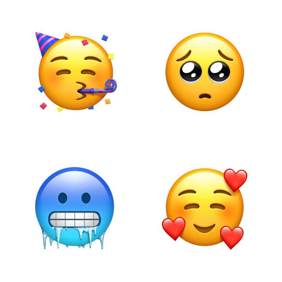 New face emojis - See all the new emoji that Apple is planning to launch later this year