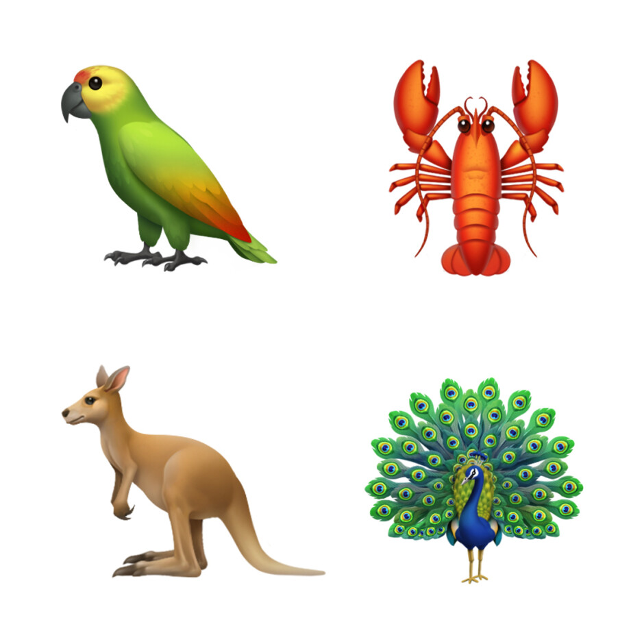 New animal emojis - See all the new emoji that Apple is planning to launch later this year