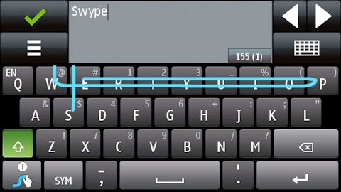 Swype keyboard expands and is now available on Symbian^1