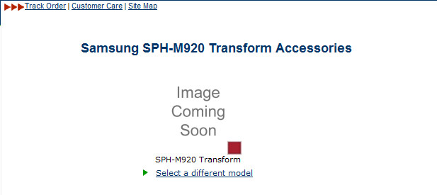 What is the Samsung Transform heading for Sprint?