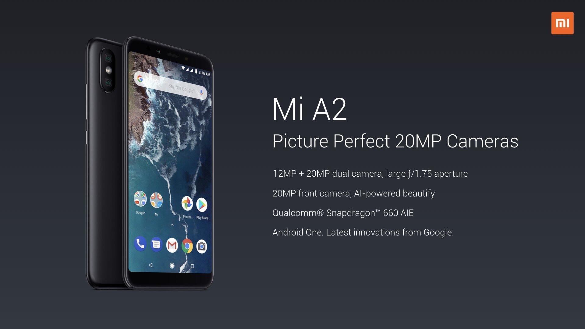Xiaomi Mi A2 And Mi A2 Lite Go Official Phonearena