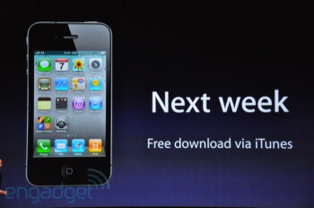 Apple announces iOS 4.1 and much more