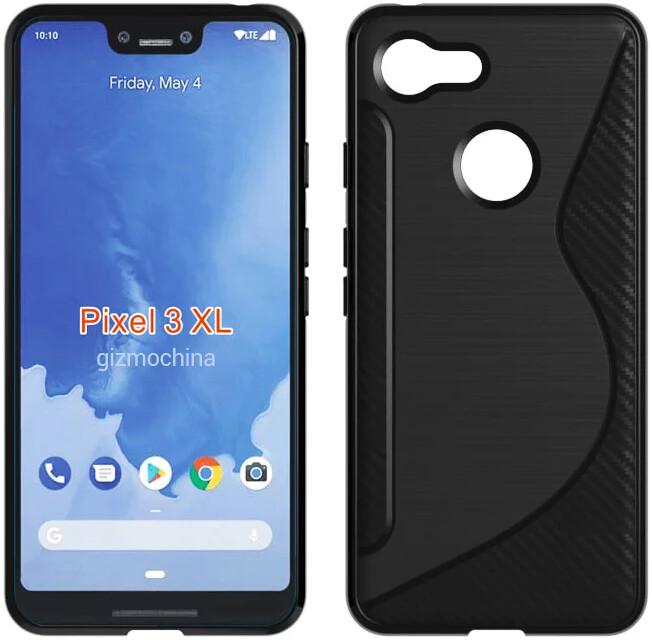 Google Pixel 3 XL case leak - Google Pixel 3 XL's key design features seen in case leak