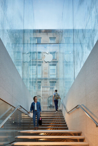 Apple opens magnificent glass cube flagship Apple Store in Milan