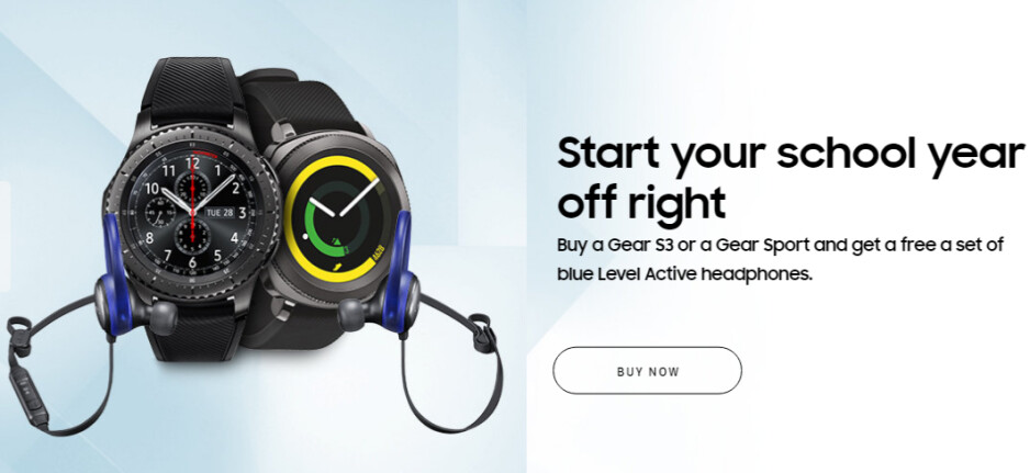 This new Samsung Gear S3 deal is not that great