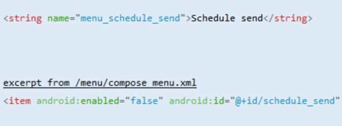 Code found in the Gmail v8.7.15 APK hints at a new native scheduling feature for the app - Code reveals that scheduling feature could be coming soon to Gmail's Android app
