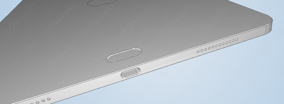 Claimed iPad Pro 2018 schematics depict a rear design mystery