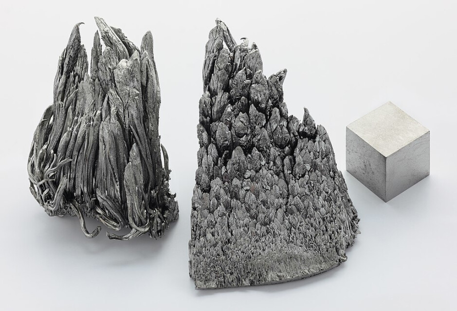 Yttrium not only looks cool, but is also used for white LED lights - The afterlife of your smartphone – is the planet paying too much for our luxury?