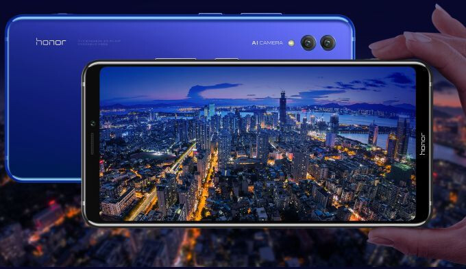 Honor Note 10 goes official with huge screen, huge battery, middling price