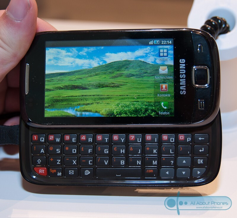 Samsung I5510 with Froyo and physical keyboard spotted at IFA 2010