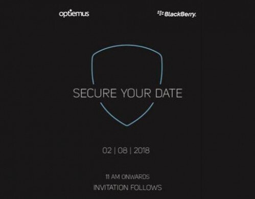 BlackBerry Evolve X with full touchscreen going official on August 2