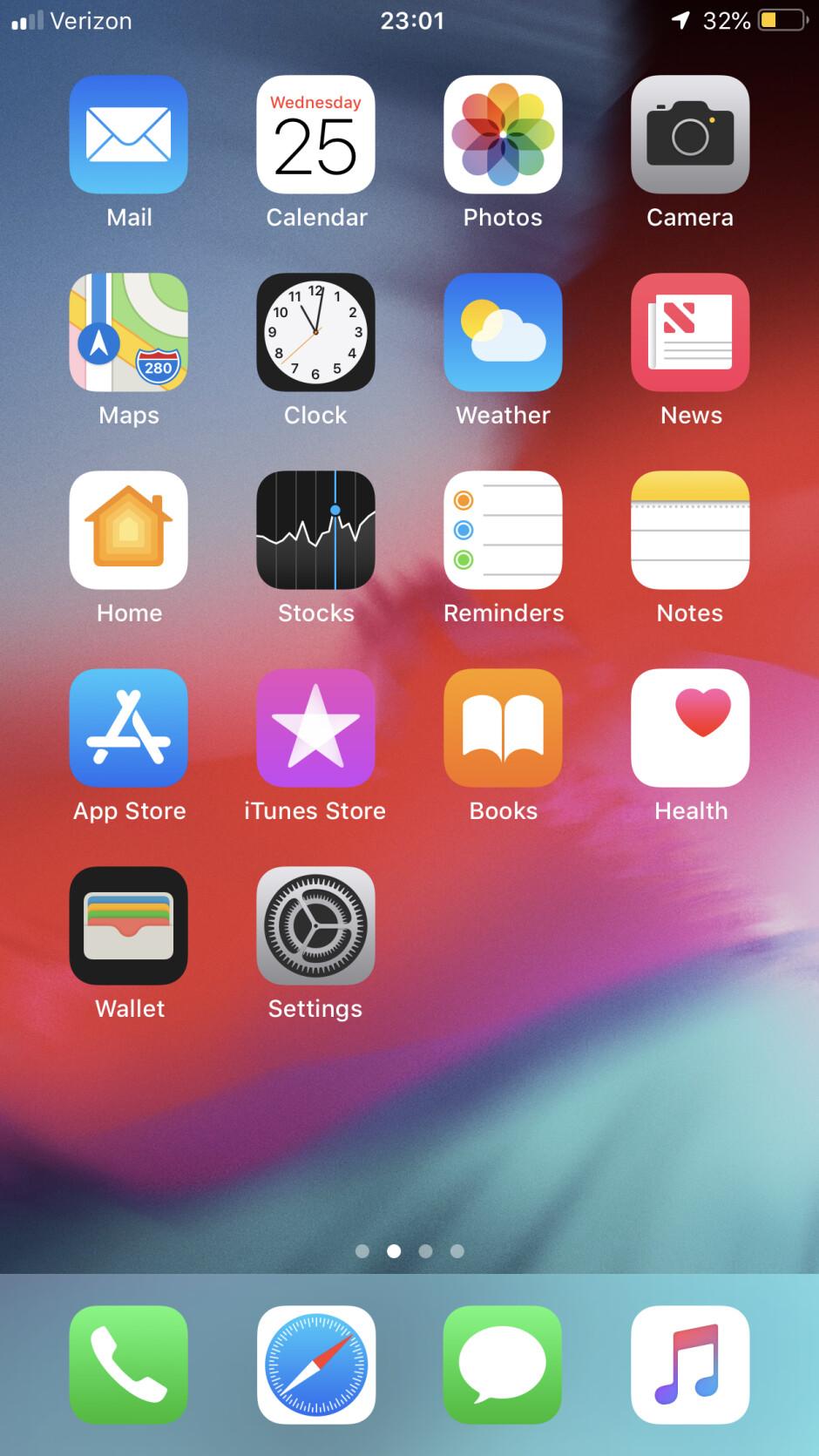 Wallpaper appears faded in beta 3 - iOS 12 public beta 4: Battery Health leaves beta