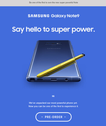 Samsung unveils the Galaxy Note 9 early, confirms redesigned rear camera