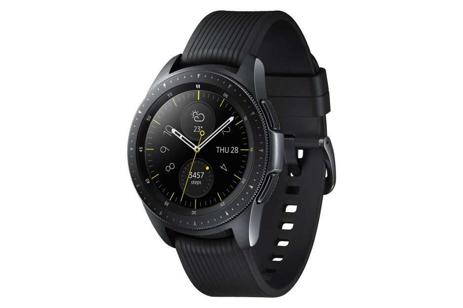 The Samsung Galaxy Watch in rose gold, silver, and black - Samsung Galaxy Watch is announced in two sizes with LTE and multi-day battery life
