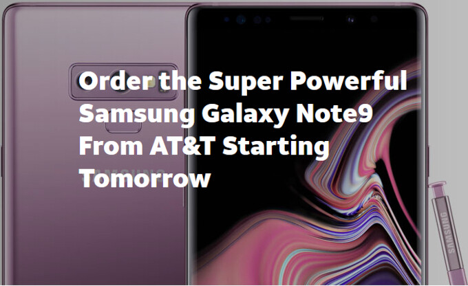 How and where to pre-order Galaxy Note 9 in the US from