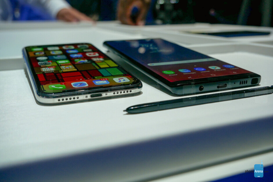 Galaxy Note 9 vs. iPhone X: Battle of the $1000 flagships