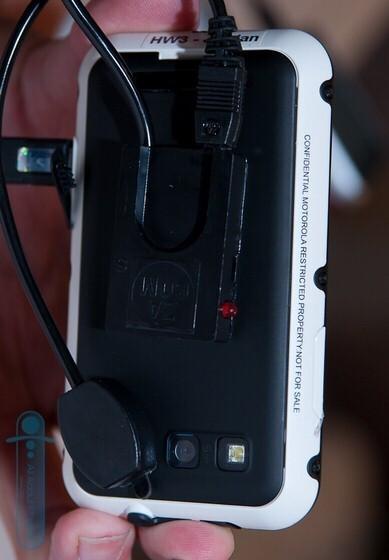Motorola Defy - Motorola MILESTONE 2 & Defy spotted in the flesh during IFA