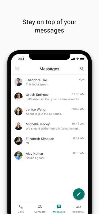 Google Voice erhält neues Design für iOS, Android-Update kommt bald
