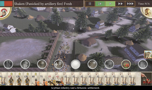 iphone rome total war