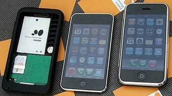 Apple Peel 520 converts an iPod touch into a phone