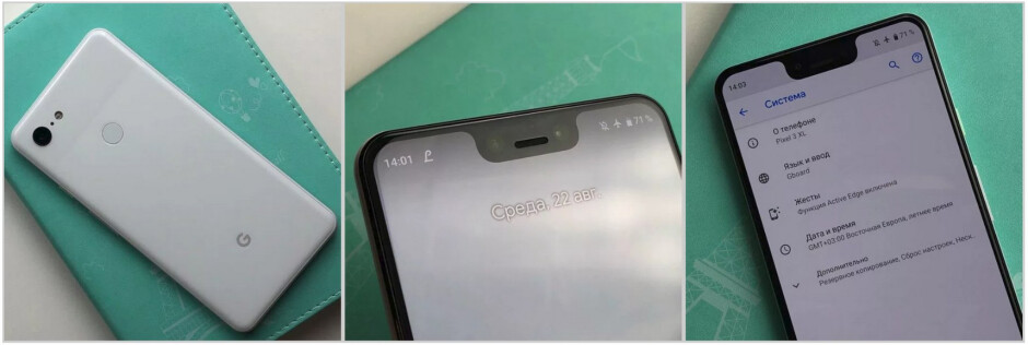 These photos allegedly show some of the Pixel 3 XL units sold in the Ukrainian black market - Google Pixel 3 XL listed for sale on black market, priced at $2000 each