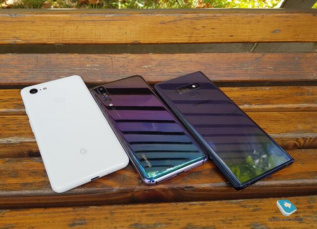 Google Pixel 3 XL vs Note 9 vs P20 Pro camera samples comparison