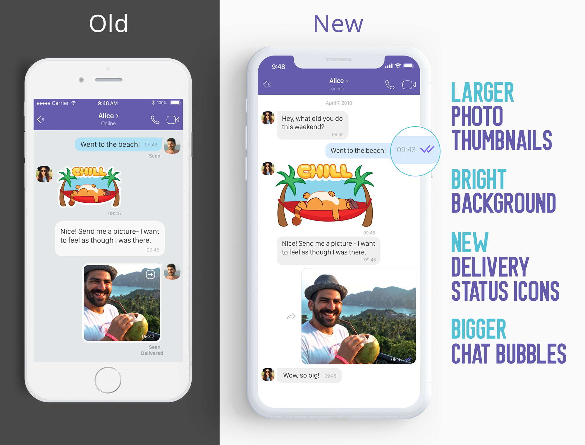 Viber gets a complete makeover on Android and iOS, here are