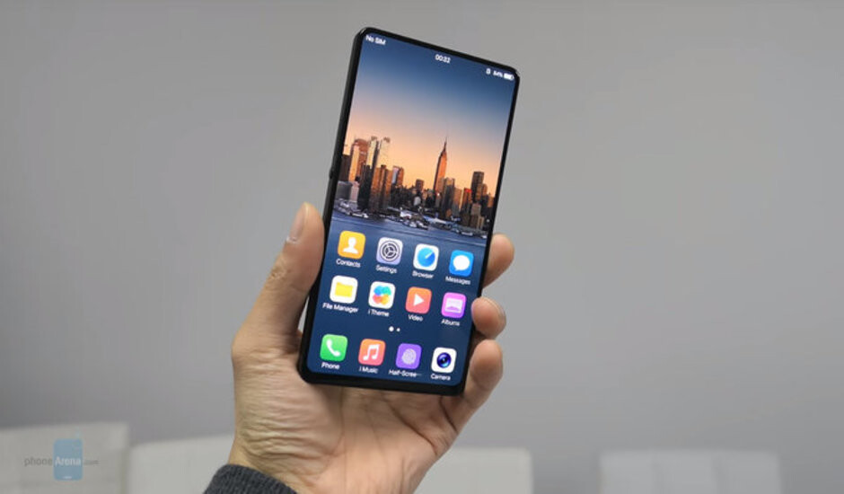 The Vivo Apex has no notch and is nearly bezel-less - Huawei compares the notch on the P20 to the one on the Apple iPhone X and says smaller is better
