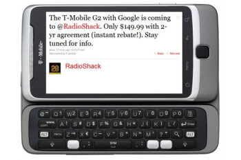The Shack to offer T-Mobile G2 for $149.99