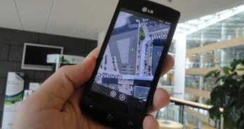 Additional images of the LG E900 surface showing off its WP7 love