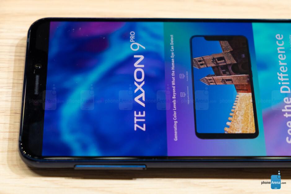 ZTE Axon 9 Pro hands-on: A very pleasant surprise