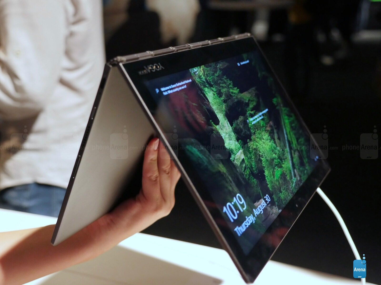 Lenovo has a new Yoga Book: a two-screen tablet hybrid with E Ink