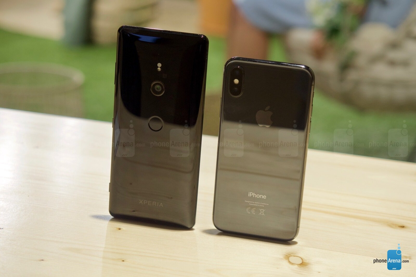 check out 91655 5925c $900 Xperia XZ3 vs $1000 iPhone X: can you afford these babies ...