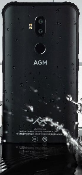 Splash or dunk, the X3 can take it - AGM X3 is a powerful flagship for the rugged market, complete with Snapdragon 845 and 4100mAh battery