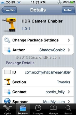 HDR Camera Enabler for iPhone 3G and 3GS with iOS 4.1 Beta is out on Cydia now
