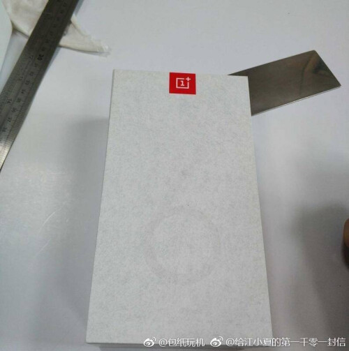 Alleged OnePlus 6T retail box