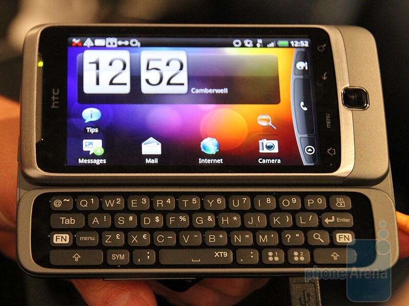 HTC Desire Z - HTC Desire HD and Desire Z Hands-on