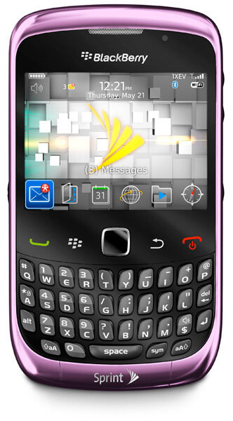 Sprint's BlackBerry Curve 3G will be available on September 26th for $49.99