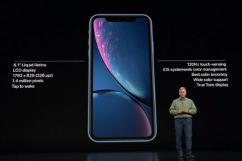 Apple iPhone Xr is now official: LCD screen, Face ID, plenty of colors