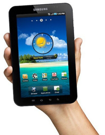 Verizon's Galaxy Tab by Samsung announced