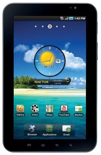 Verizon's Galaxy Tab by Samsung announced