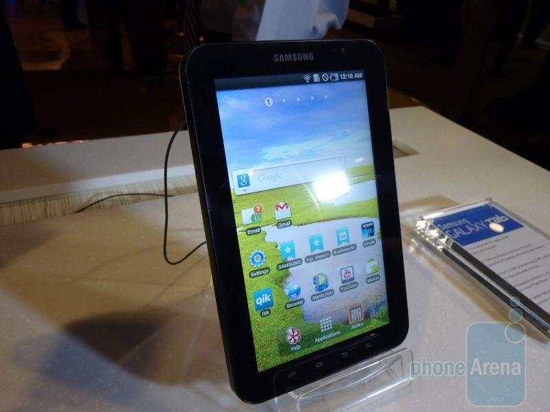 Samsung Galaxy Tab Hands-on