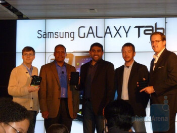 Samsung Galaxy Tab Hands-on
