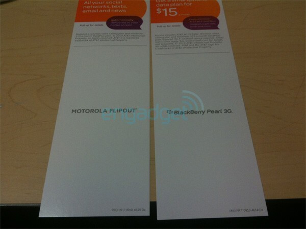 Motorola FLIPOUT for AT&T out this weekend with more WP7 & Android sets later?