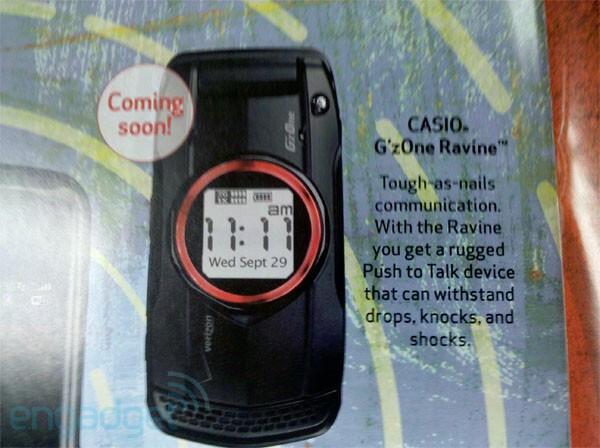 Casio G'z0ne refresh for Verizon coming soon?