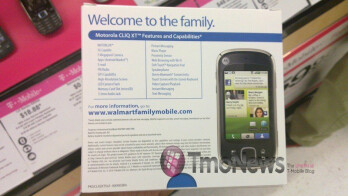 Family Mobile phone from Walmart spotted