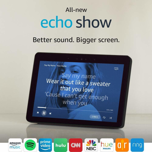 Amazon's all-new Echo Show comes with a larger screen, fabric design, built-in hub