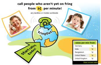 S60 Nokia phone plus fringOut equals huge savings on international calls