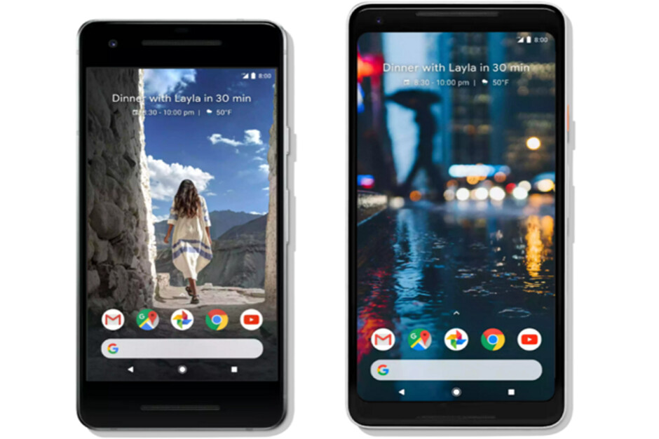 The Google Pixel 2 and Pixel 2 XL feature stock Android and first dibs on updates - The world's most popular mobile OS turns 10 years old today