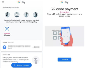Google Pay is gearing up to add QR code support for peer-to-peer transactions